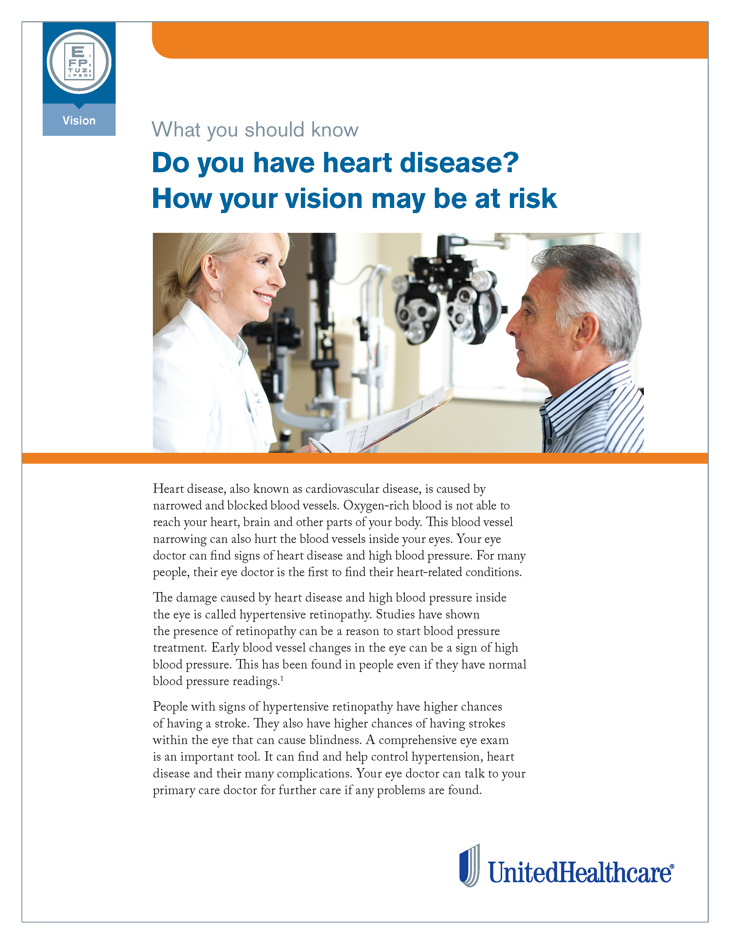 Heart Disease and Your Eyes